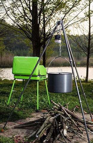 Campfire Cooking Tripod