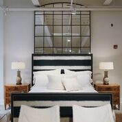 Lee Industries Customizable Square Bed