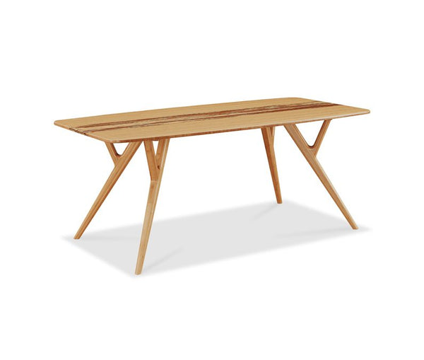 Azara Dining Table Caramelized with Exotic Tiger