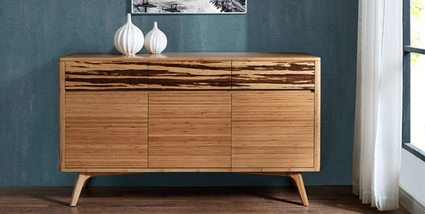 Azara Sideboard Caramelized with Exotic Tiger