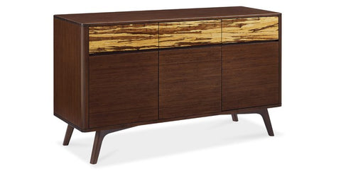 Azara Sideboard Sable with Exotic Tiger