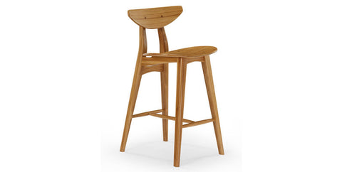 Cosmos Caramelized Counter Stool