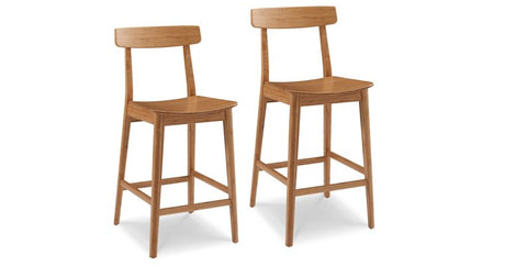 Currant Caramelized Counter Stool