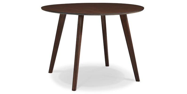 Currant Round Dining Table Black Walnut
