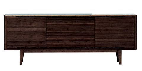 Currant Sideboard / Media Cabinet Black Walnut