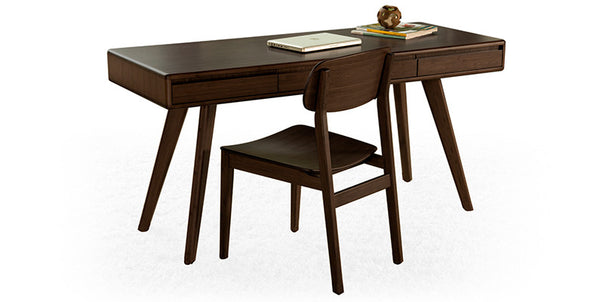 Currant Writing Desk Black Walnut