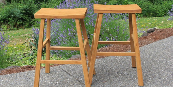 Erica Caramelized Bar Stool