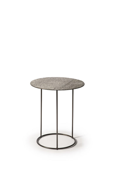 Celeste side table - lava linear