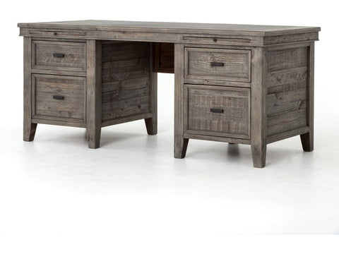 Irish Coast Desk Black Olive