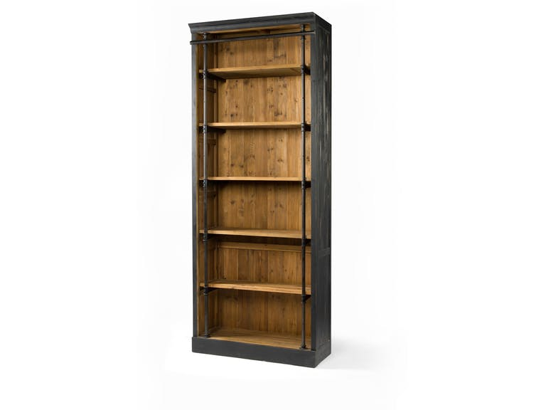 Ivy Bookcase Matte Black