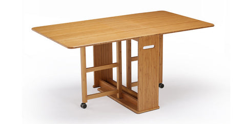 Linden Gateleg Dining Table Caramelized