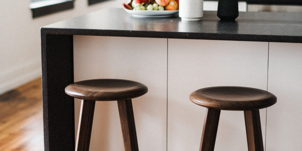 Mimosa Black Walnut Bar Stool