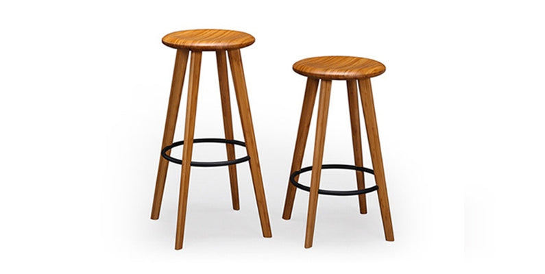 Mimosa Caramelized Bar Stool