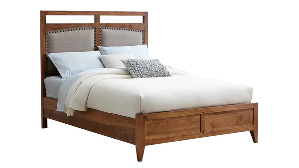 Borkholder Simplicity Upholstered Panel Bed