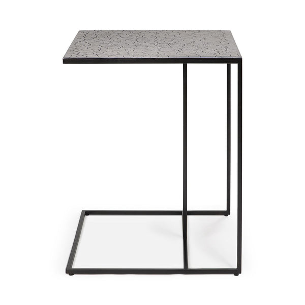 Triptic side table - lava taupe