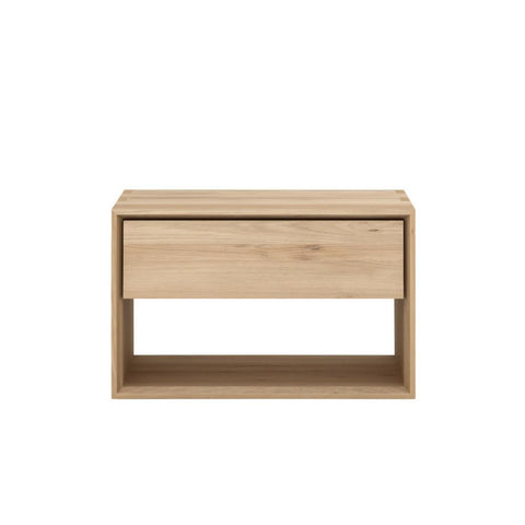 Oak Nordic II Bedside Table