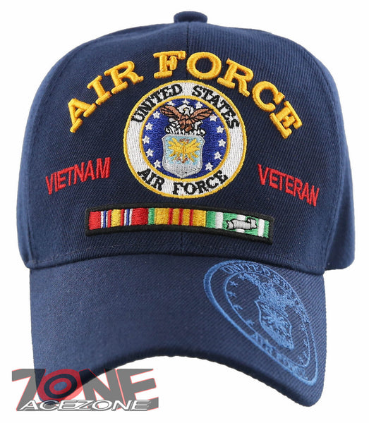 70a80cafe4a US AIR FORCE USAF VIETNAM VETERAN RIBBON BAR CAP HAT NAVY
