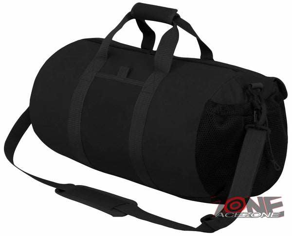 d9b7dea795eb ... East West USA Tactical Molle Military Round Duffel Bag RTD703M BLACK ...