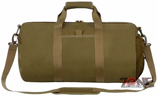cec0bbf74bd3 East West USA Tactical Molle Military Round Duffel Bag RTD703M TAN ...