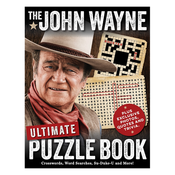 Open Me When and John Wayne Puzzle Book