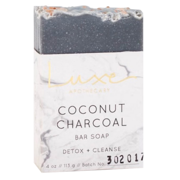 Open Me When and Luxe Charcoal Soap
