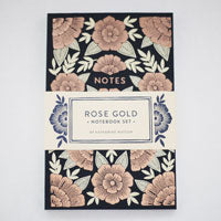 Rose Gold Notebooks