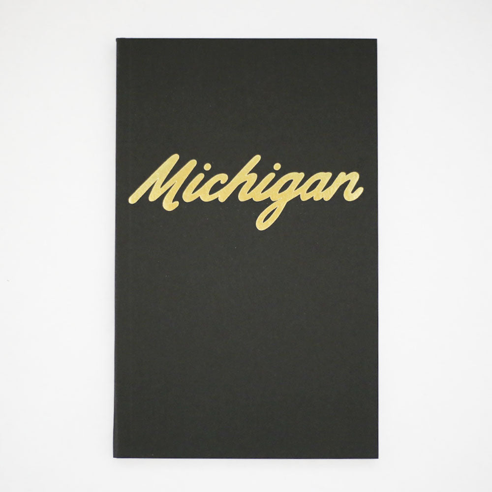City Bird Michigan Notebooks