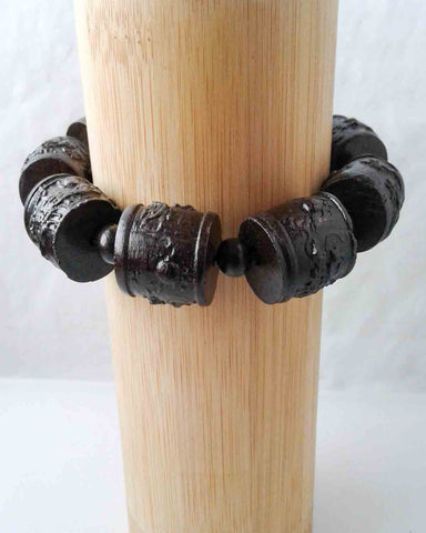 Sandalwood Dragon Bracelet