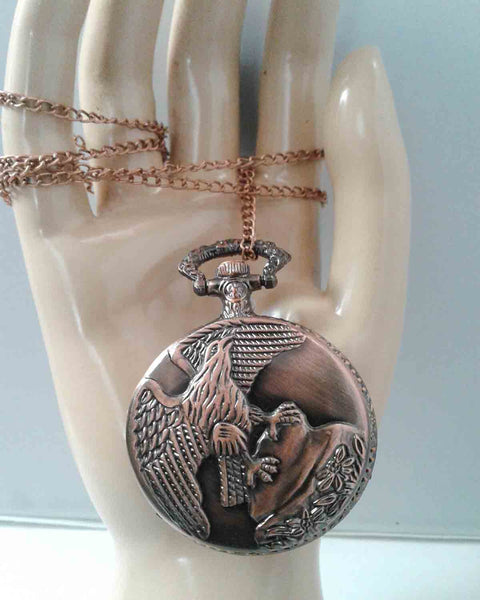 Eagle Secret Pendant Necklace
