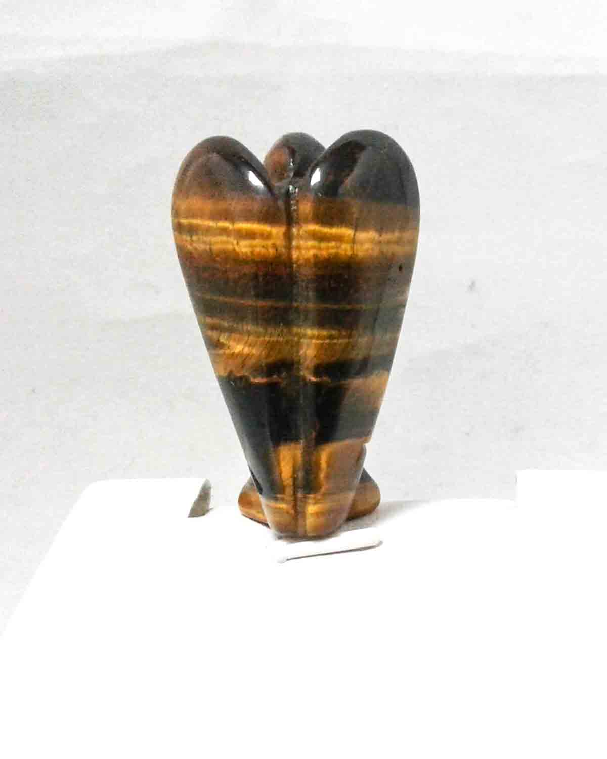 tiger eye angel meditation stone