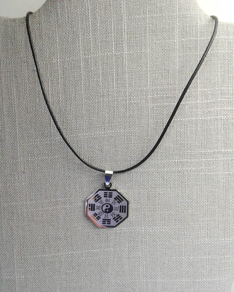 Stainless Steel Yin Yang Amulet