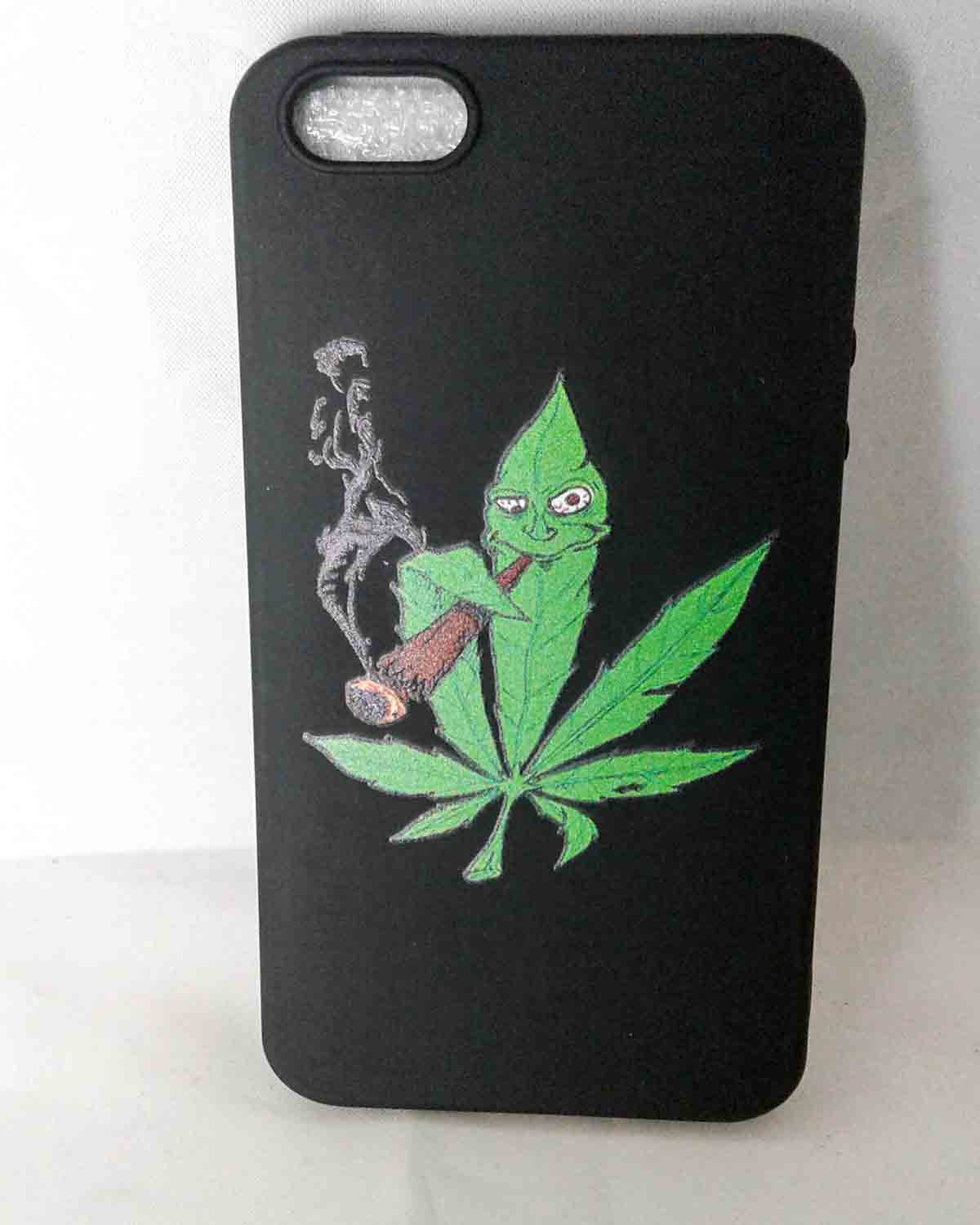 Leaf & Blunt iPhone 5 Half Case