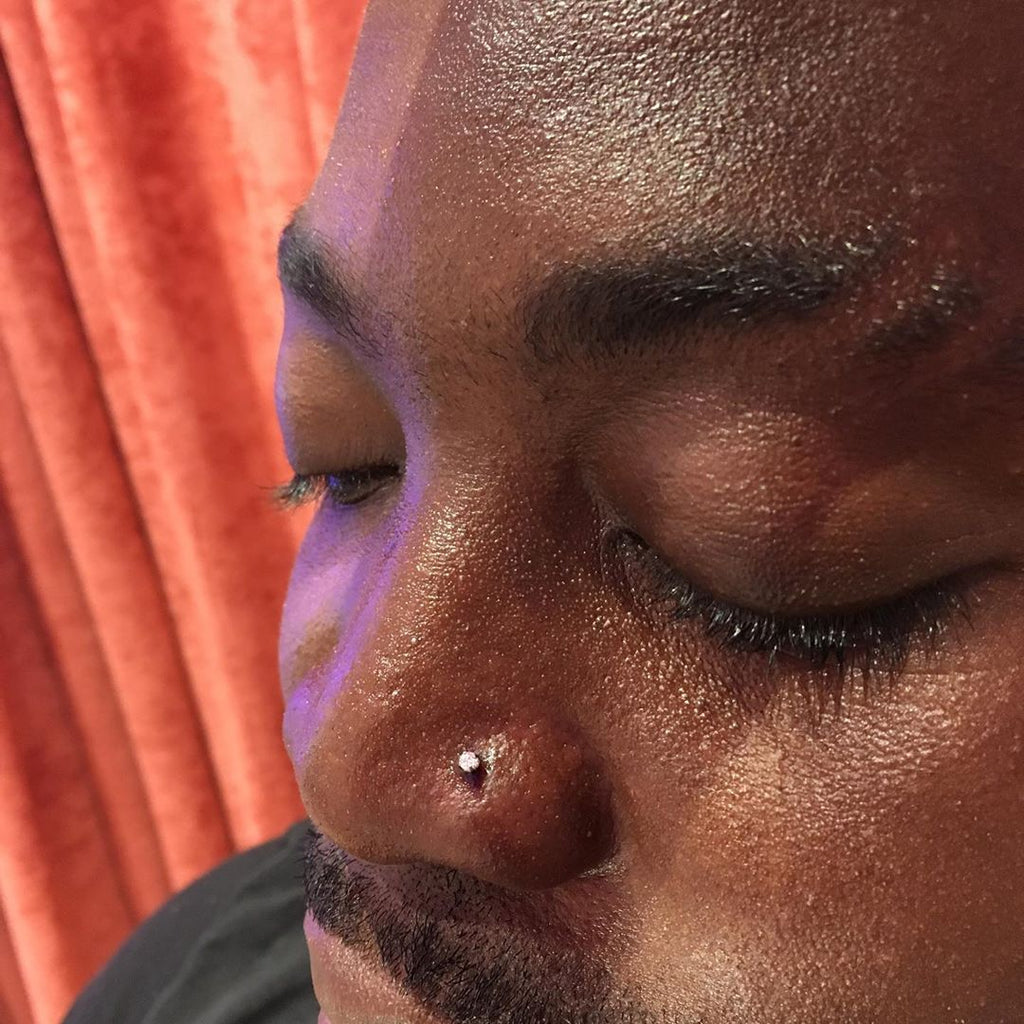 All About Nose Piercing for Men