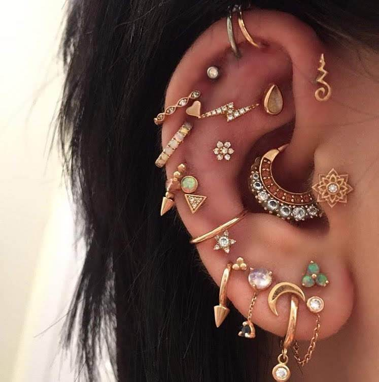 Different Types of Ear Piercings