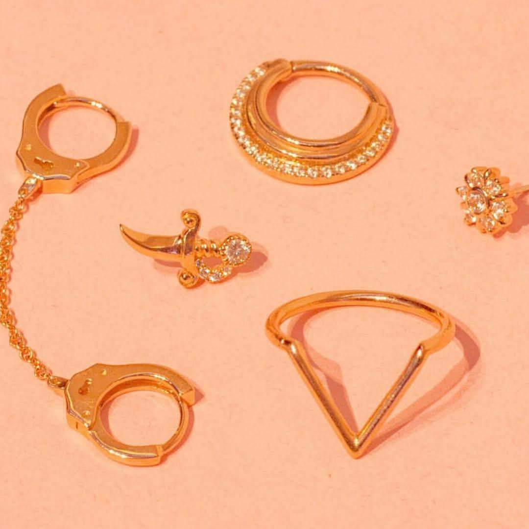 All About Body Jewelry: from metals to maintenance