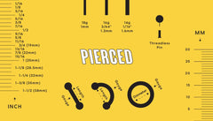 The Complete Guide to Measuring Your Body Jewelry
