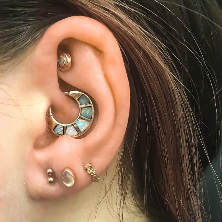 What Are The Least Painful Ear Piercings Pierced