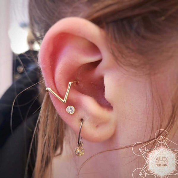 Your Guide To Conch Piercings Pierced