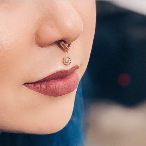 Everything You Need to Know About Septum Piercings – Pierced