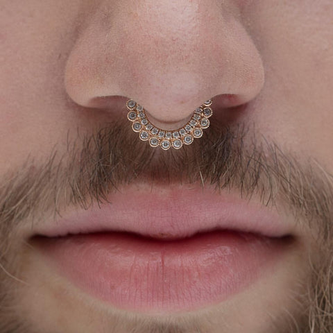 Everything You Need To Know About Septum Piercings Pierced