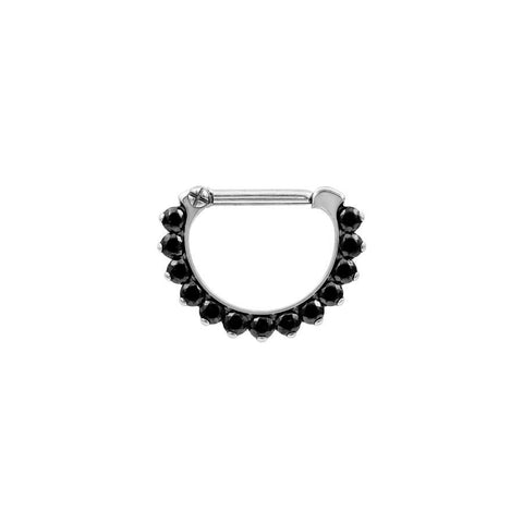 Eternity Odyssey Black Swarovski Clicker in Titanium by Industrial Strength