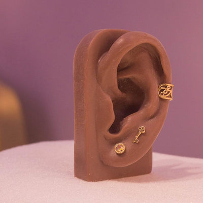 Flourish Ear Cuff in 14k Yellow Gold by BVLA