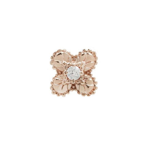 Coco CZ in 14k Rose Gold by Buddha Jewelry
