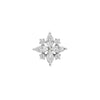 Jonquil CZ in 14k White Gold by Buddha Jewelry