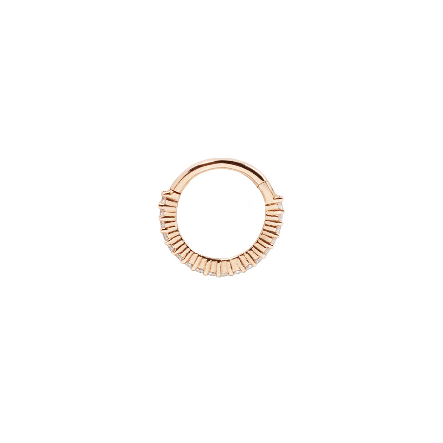Radiant Clicker in 14k Rose Gold by Buddha Jewelry