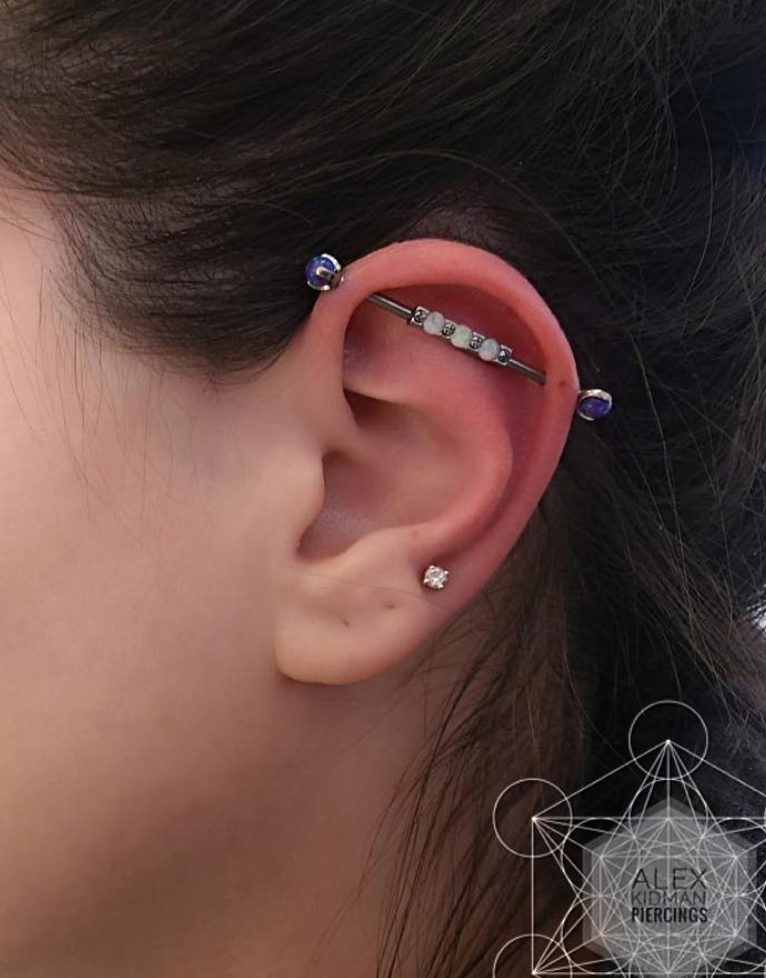 Industrial Piercing in Mississauga