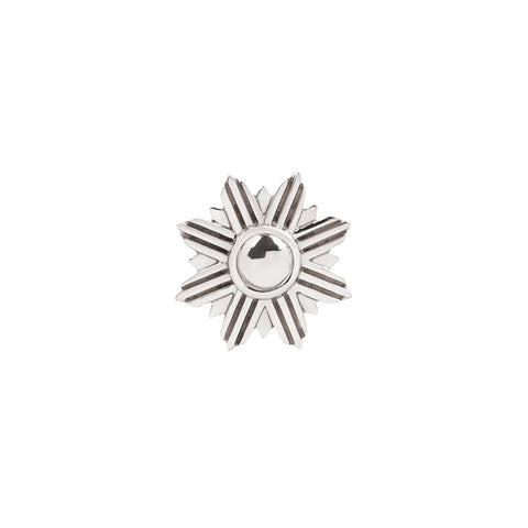 Starburst in 14k White Gold by Buddha Jewelry