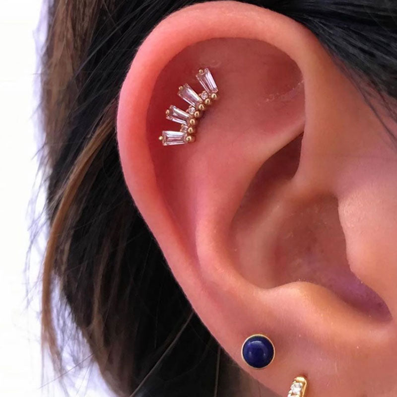 Flat Piercing in Mississauga