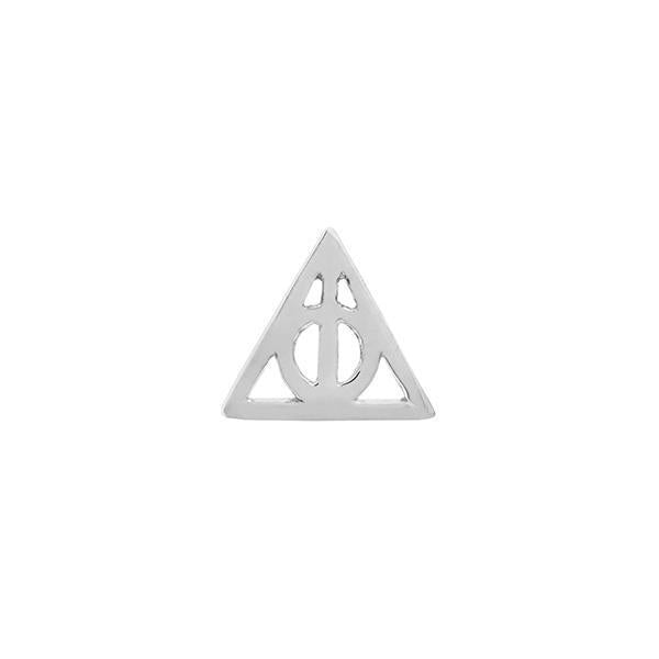 Deathly Hallows in 14k Gold by Junipurr