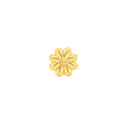 Aster Flower in 14k Gold by Junipurr